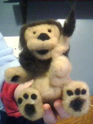 Little Cuddlers past works FELTED_LION
