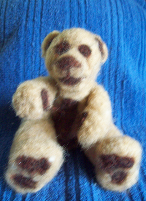 Little Cuddlers past works Felted_bear-1