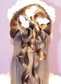 Dạy cách bới tóc nè Cac1