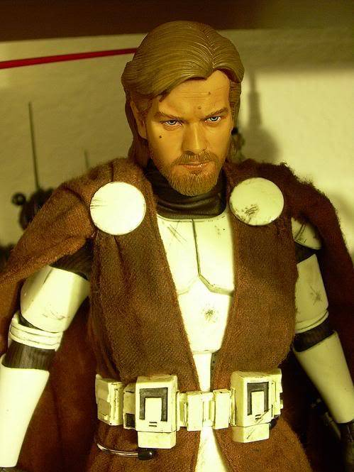 Custom Général Kenobi Clone Wars - 12 pouces DSCN5030
