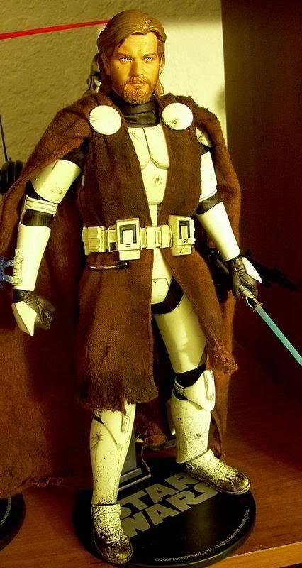 Custom Général Kenobi Clone Wars - 12 pouces DSCN5034