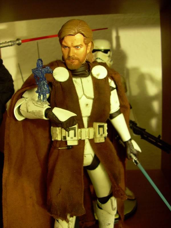 Custom Général Kenobi Clone Wars - 12 pouces DSCN5035
