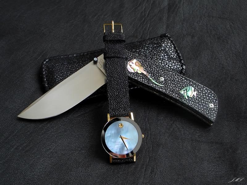 Bracelet en Galuchat DSC08618