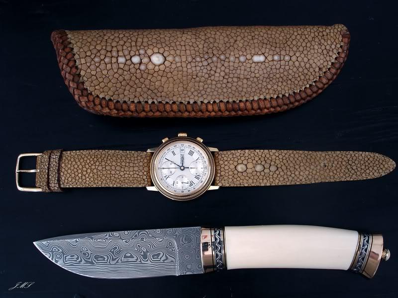 Bracelet en Galuchat DSC08772