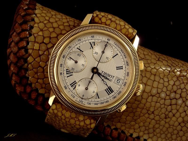 Bracelet en Galuchat DSC08773