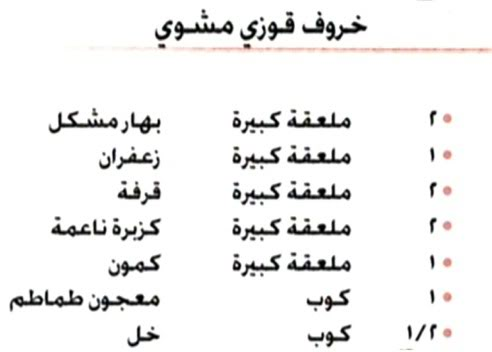 قنبله العيد خروف اوزى مشوى على طريقه منال العالم وبالصور Picture2-2