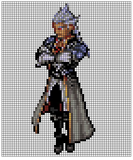Kingdom Hearts Pixel Patterns Ansembody1