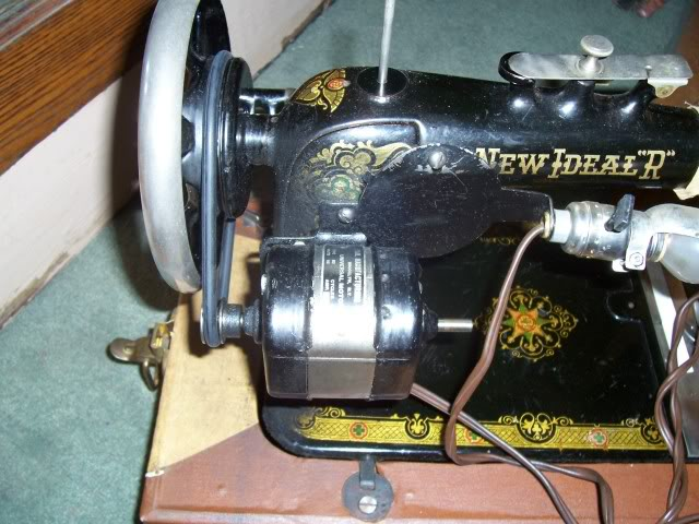 Old sewing machines Motor