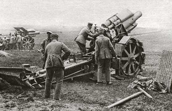 Primera Guerra Mundial ArtilleriaAustria