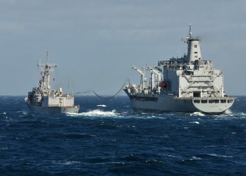 Ejercicios Navales de la Armada Chilena   Maniobconfragnort