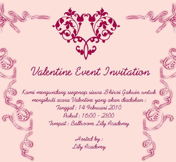 Valentine Invitation Invitation