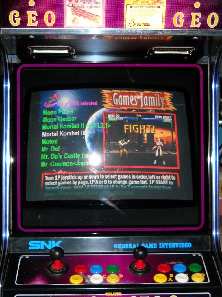 """[vds] MultiGame arcade """"1073 in 1"""" -arcade- DSCN0206"""