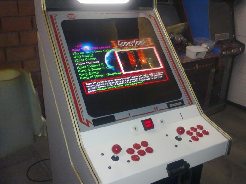 [Vendu] Multigame Arcade Cabinet 3019 in one 19012011101
