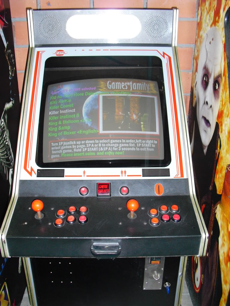 [Vends] Multigame 3019 in one arcade cabinet --new-- CIMG0354