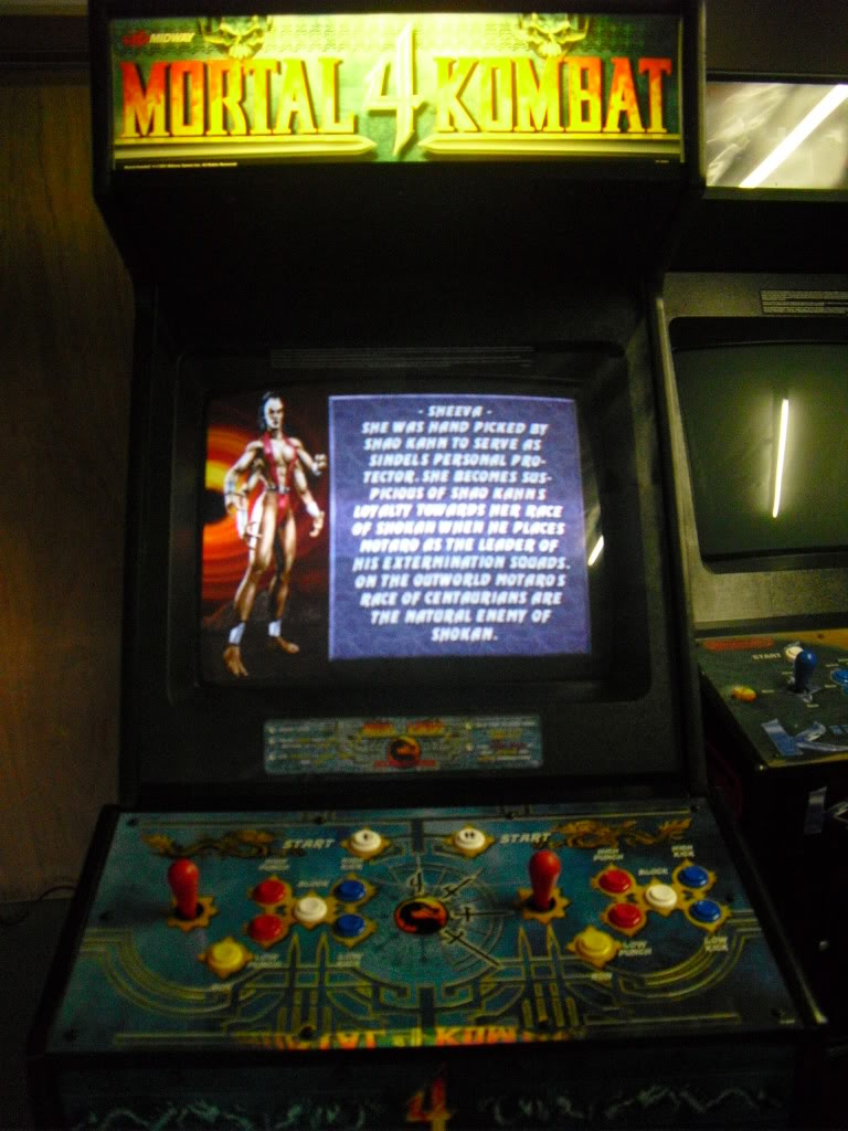 [VENDU] Mortal Kombat 4 -dedicated- Multigame 3033 in one MK4_screen