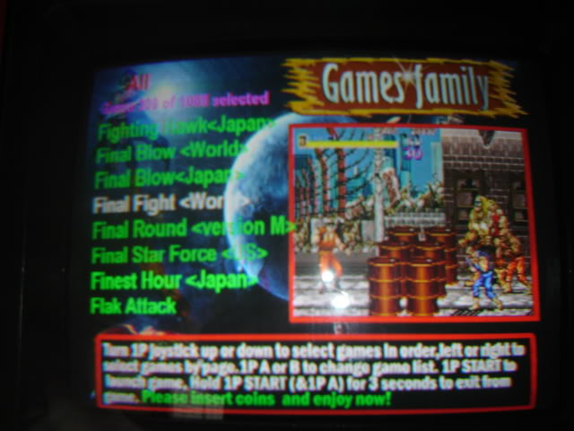 "[vds] MultiGame arcade ""1073 in 1"" -arcade- DSC01714"