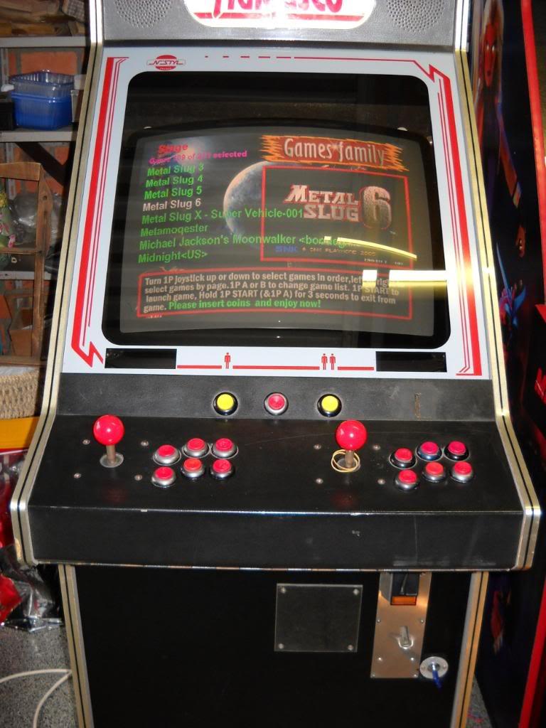 """[vds] MultiGame arcade """"1073 in 1"""" -arcade- DSCN0182"""