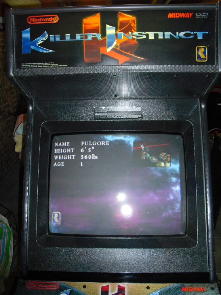 [Sold] Killer Instinct -KI1- arcade cab original CIMG0603