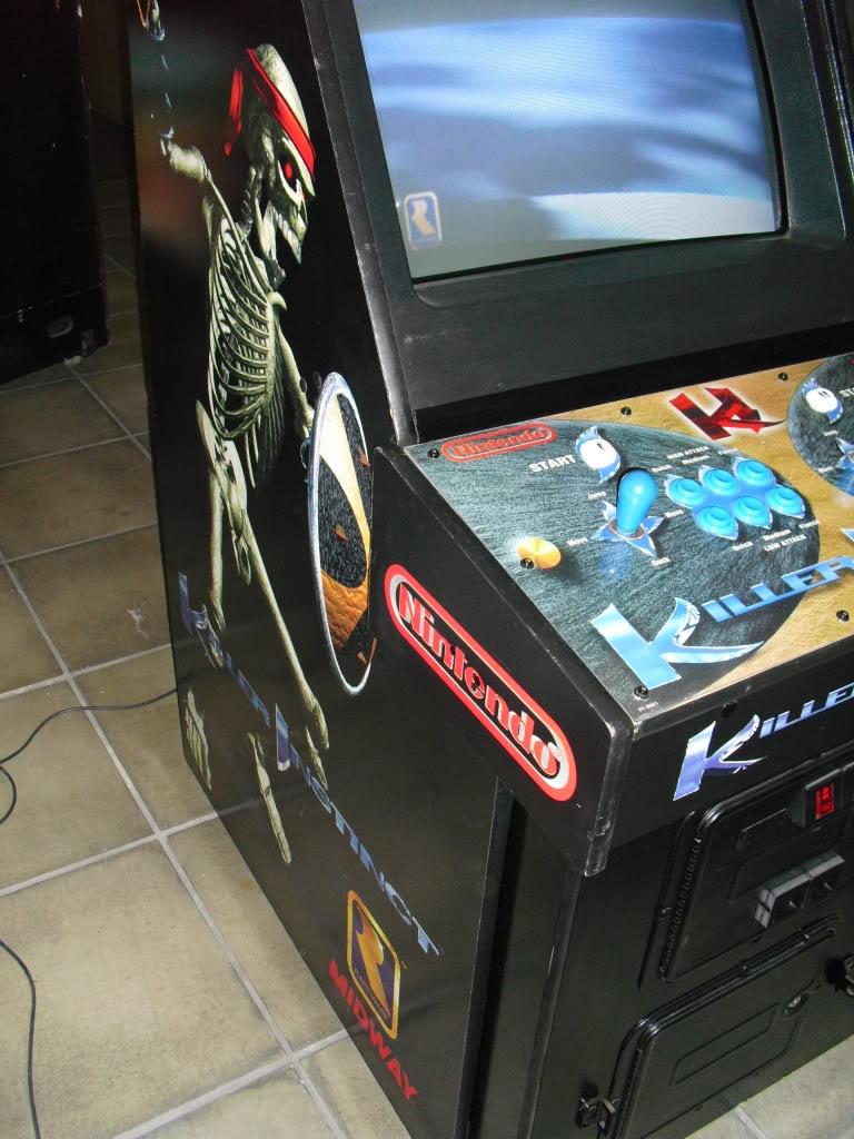[Sold] Killer Instinct -KI1- arcade cab original CIMG0604