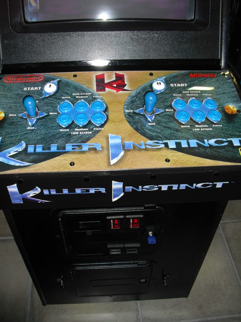 [Sold] Killer Instinct -KI1- arcade cab original CIMG0605