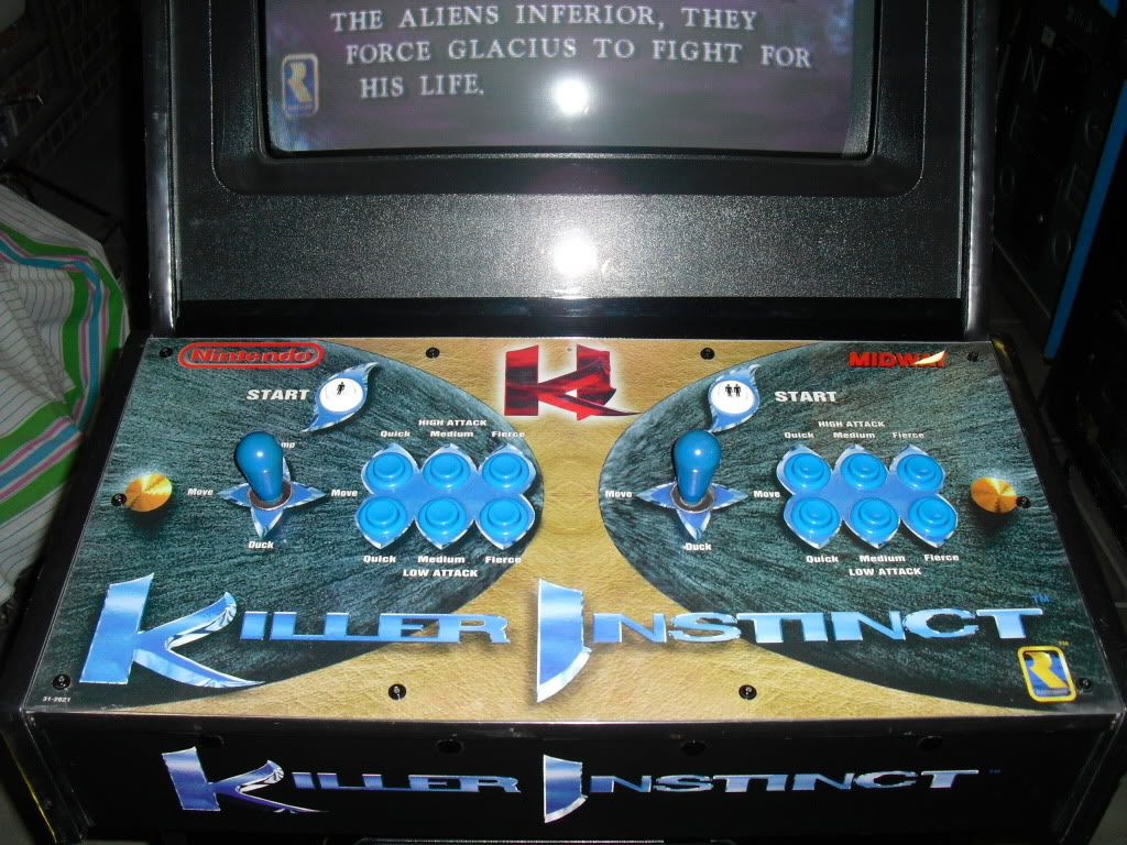 [Sold] Killer Instinct -KI1- arcade cab original CIMG0606