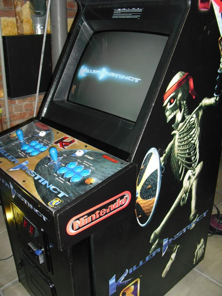 [Sold] Killer Instinct -KI1- arcade cab original CIMG0610