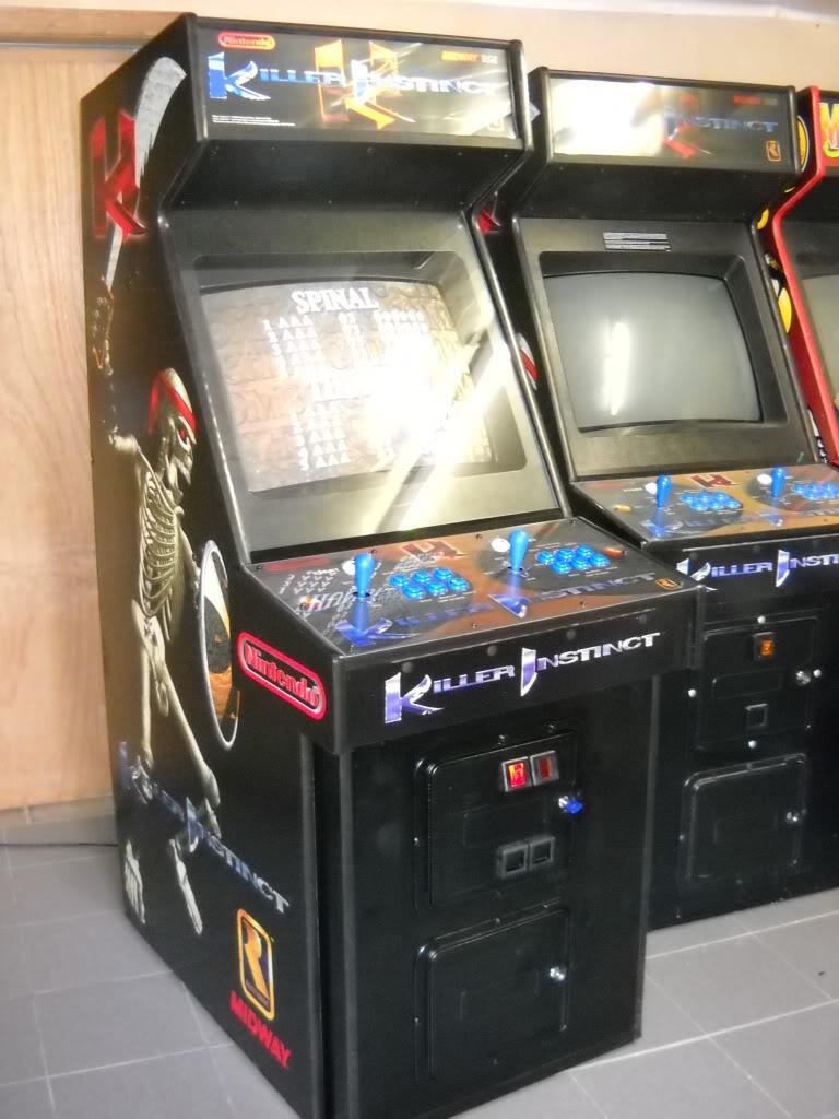 [For Sale] Killer Instinct -KI1- arcade cab original KI1_front
