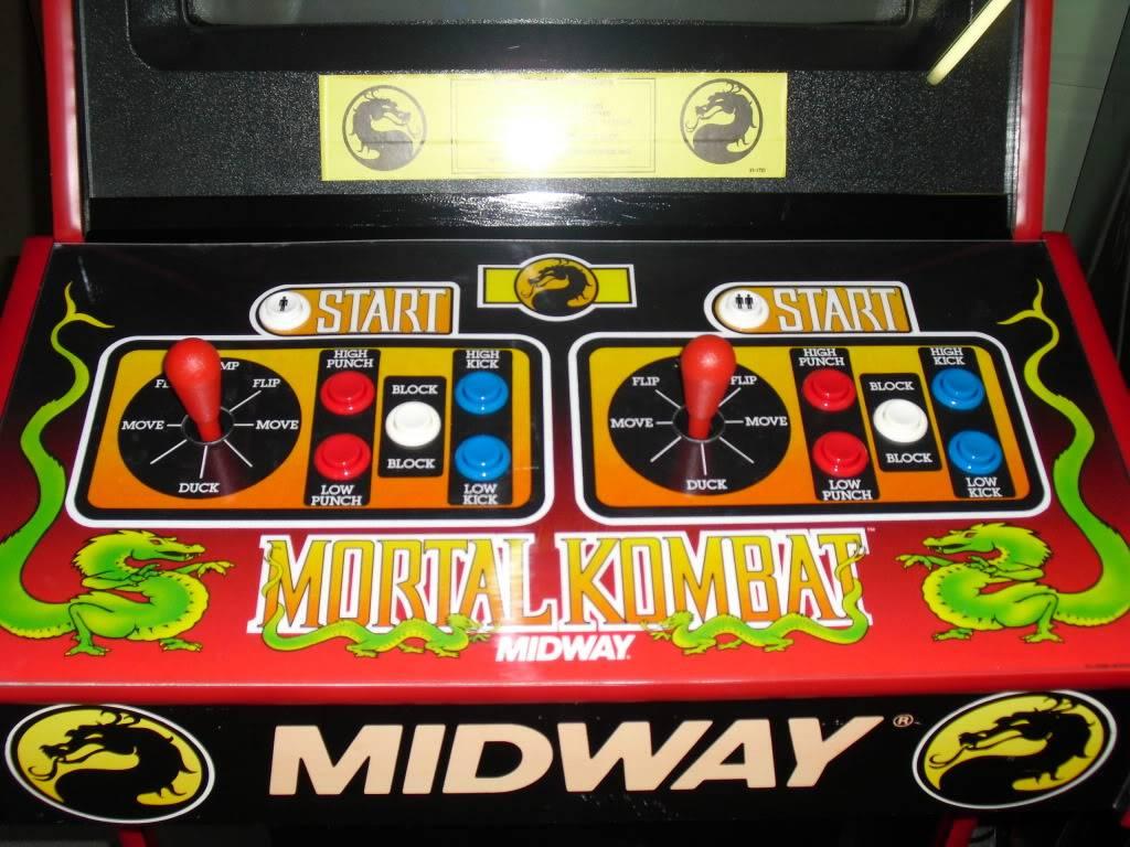 [Sold] Mortal Kombat dedicated MK1controlpanel