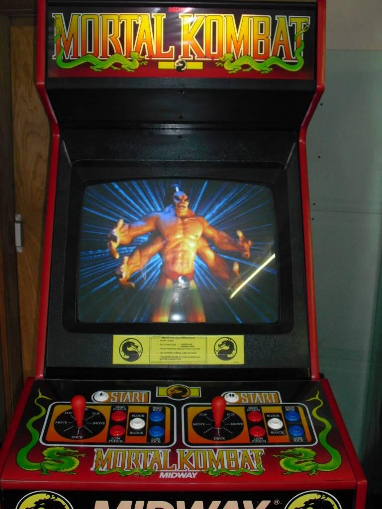 [Sold] Mortal Kombat dedicated MK1front