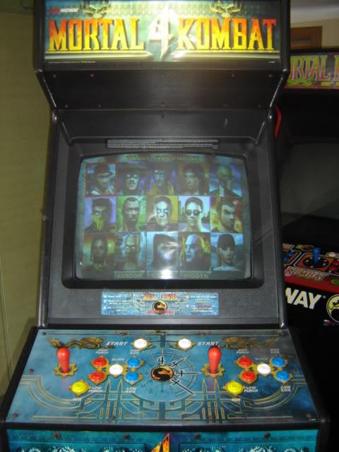 [VDS] Mortal Kombat 1 - 2 - 3 - 4 arcade cabinets MK4_front_