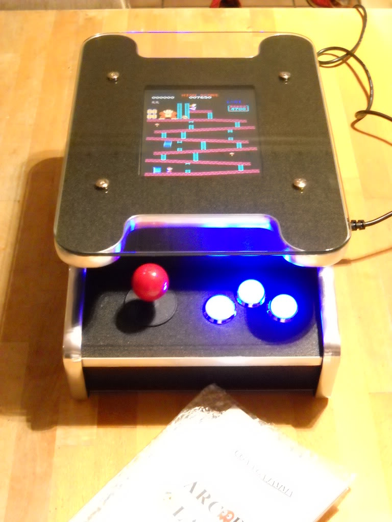 [Vds]--Table coctail machine arcade 60 in one-- Tabltop_front