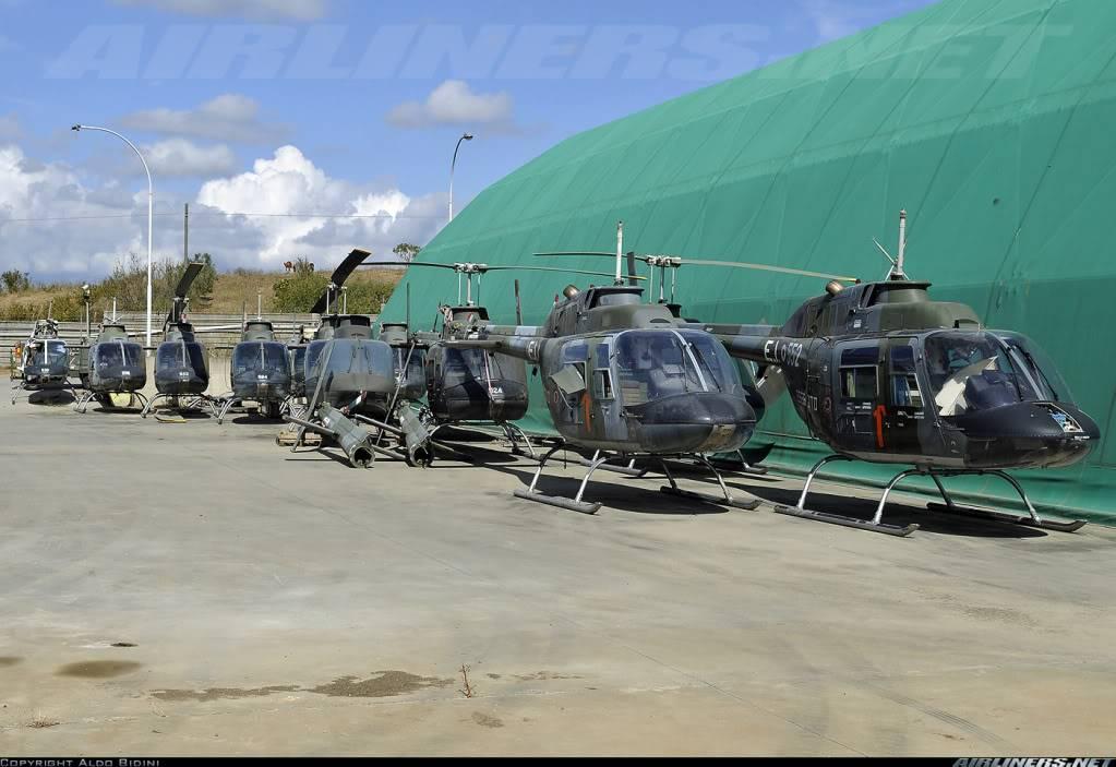 Se vienen los AB-206 JetRanger HelositalianosBell206