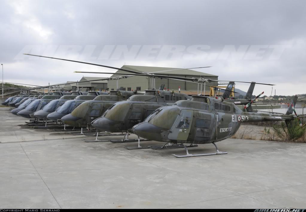 Se vienen los AB-206 JetRanger HelositalianosBell2062