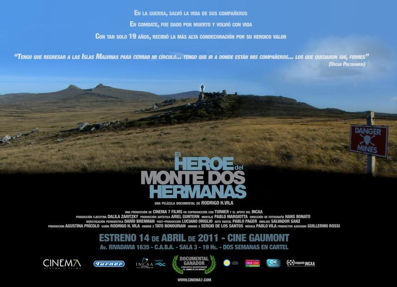 Actos, reuniones y conmemoraciones por Malvinas durante 2011 y 2012. ElHeroedeDosHermanasAfiche