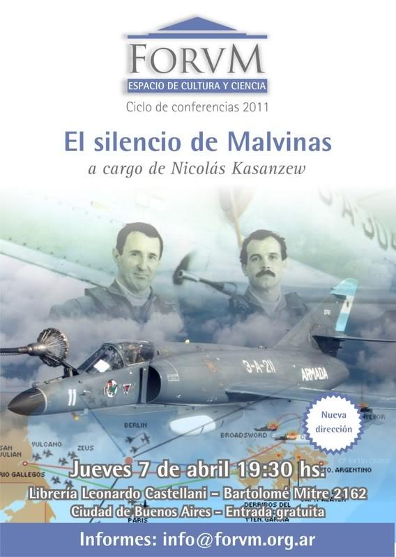 Actos, reuniones y conmemoraciones por Malvinas durante 2011 y 2012. Forum_Abril11_conferencia