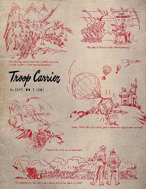 Glider Posters CartoonsAFMagMar1945