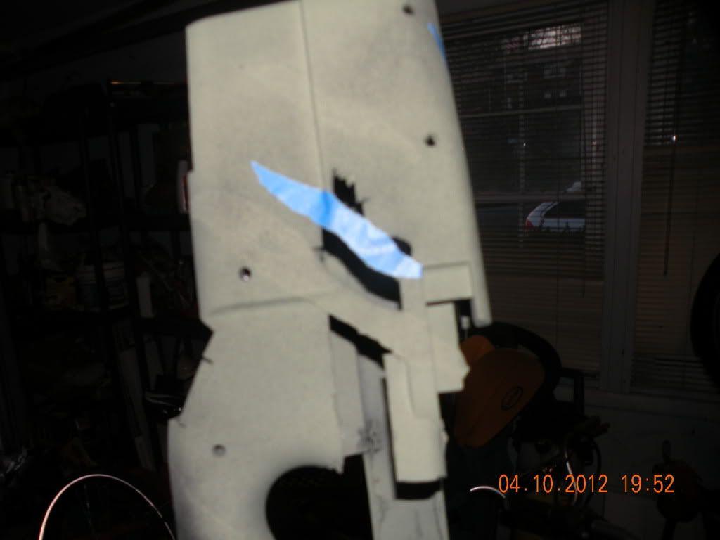 How to Multicam/woodland Tiger stripe paint your gun DSCN2375