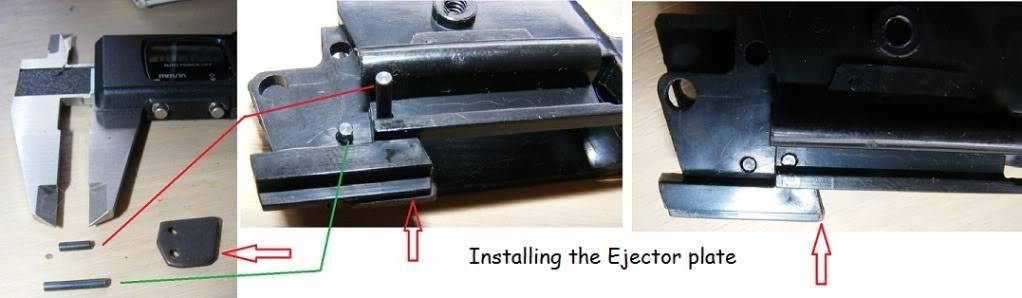 Marushin 1911 Colt Kitset Build 03rjectorinstall