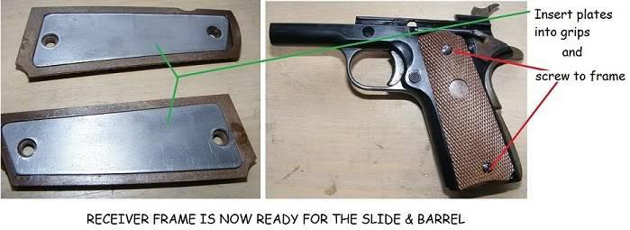 Marushin 1911 Colt Kitset Build 23gripsready