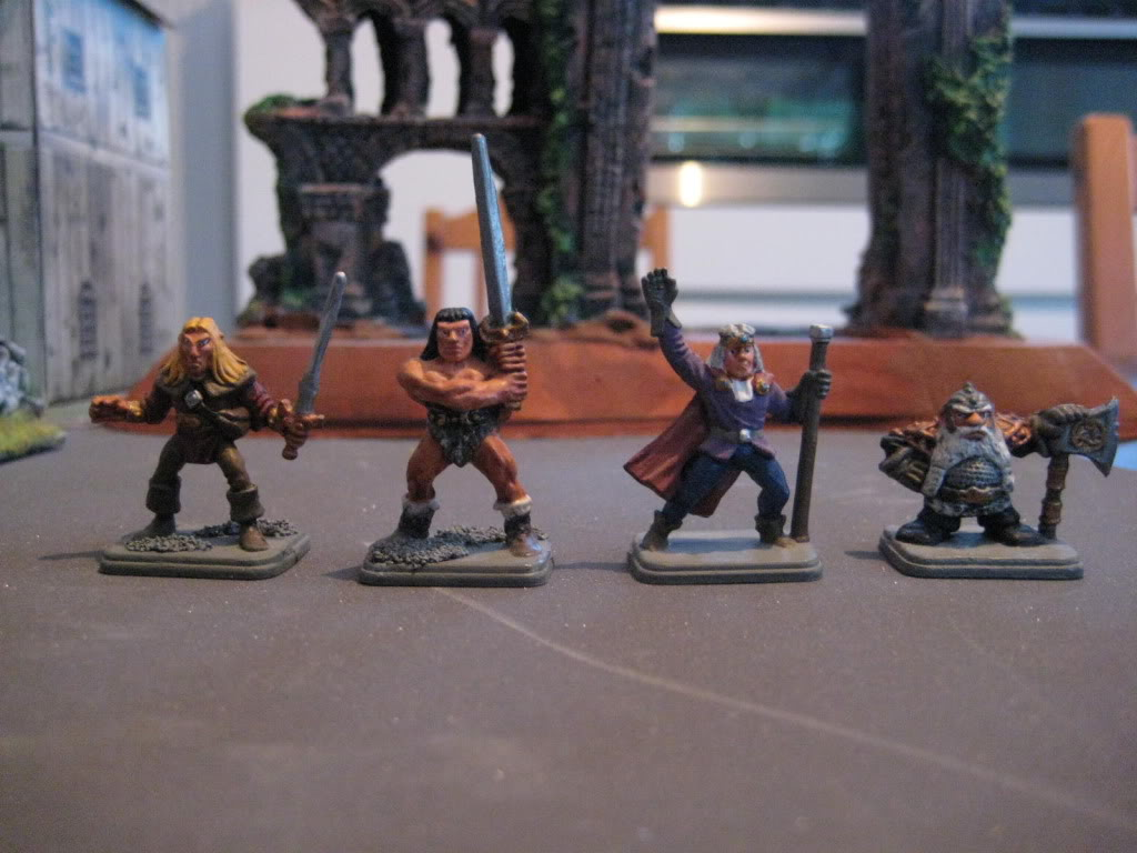 beastmen - doctorMB's beastmen and adventurers IMG_3289