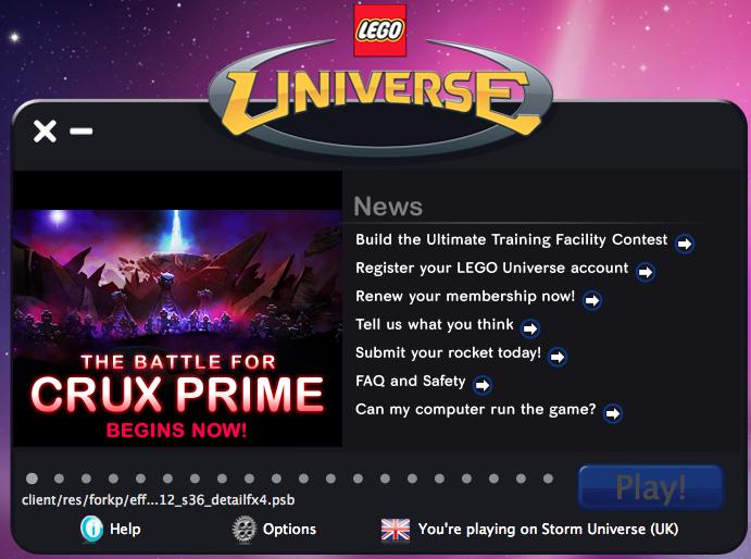Prepare for the Battle of Crux Prime!  (Lego Universe) Screenshot2011-02-07at83937PM