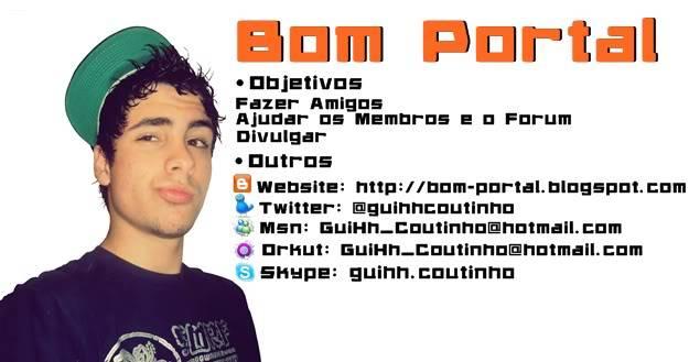 Ativando Windows XP BomPortal-Assinatura-GuiHhCoutinho