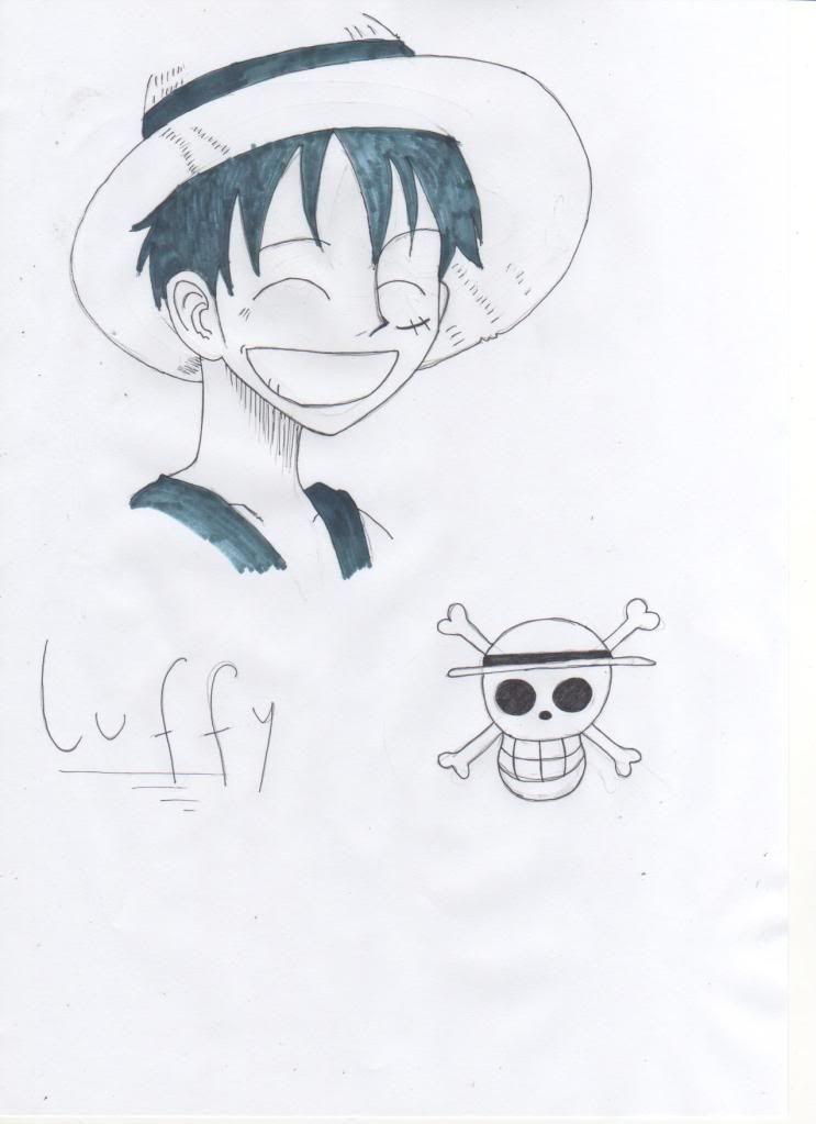 Desenhos Yumi tenshi - Página 3 Luffy