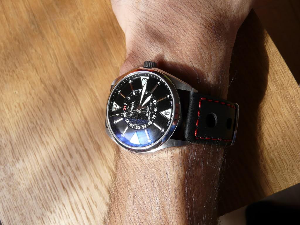 Eterna - Quel bracelet avez vous sur votre Eterna Kontiki fourhands ? P1040114