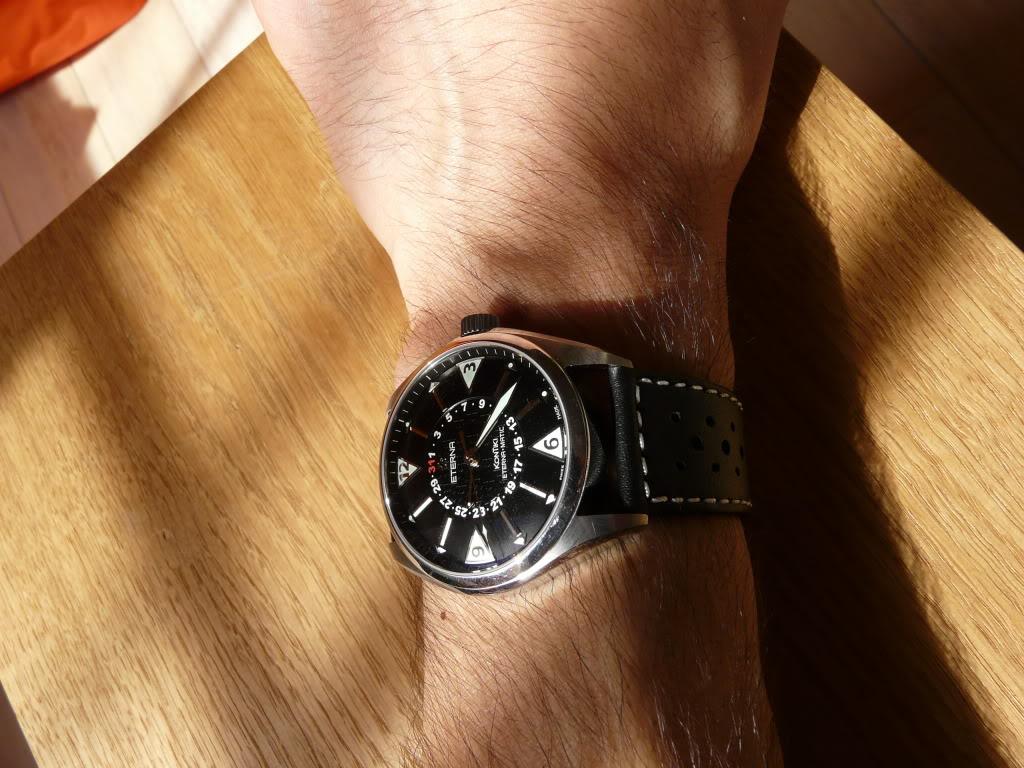 Eterna - Quel bracelet avez vous sur votre Eterna Kontiki fourhands ? P1040116