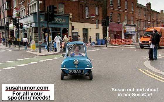 Susan's great sense of humor SusaCarSusan1DIST
