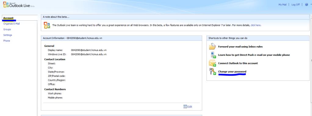 [MSDN] -- Hướng dẫn download softs có bản quyền của Microsoft ChangePass