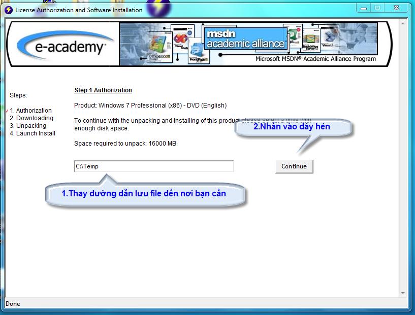 [MSDN] -- Hướng dẫn download softs có bản quyền của Microsoft Dowload_4