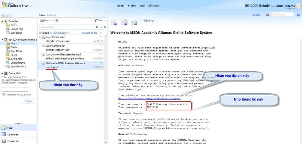 [MSDN] -- Hướng dẫn download softs có bản quyền của Microsoft Email