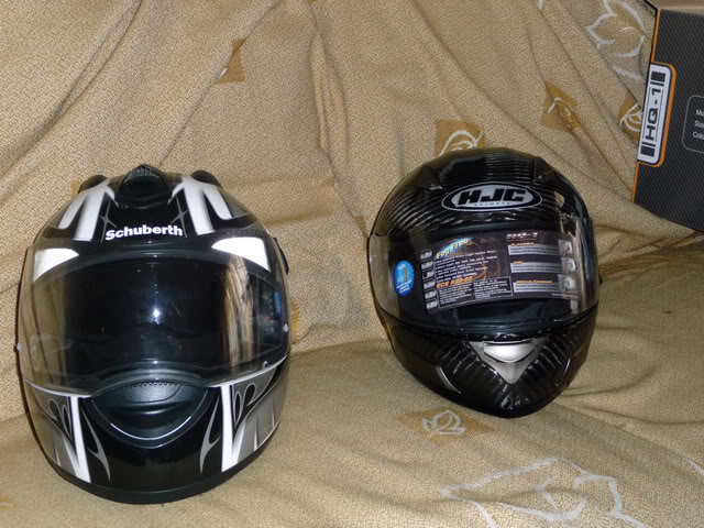 HJC HQ-1 Carbon Helmet P1060426